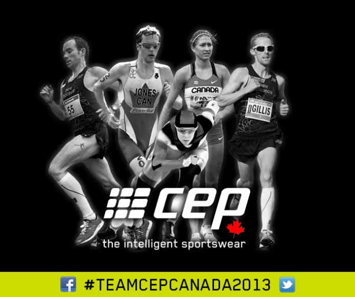 I'm with Team CEP Canada 2013!